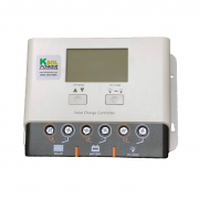 Solar Charge Controller - 30 Amp, 12/24 VDC, PWM, LCD Display, KSOL Power