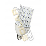 "LED BULB - 15 WATT, 85-265 VAC, 216 LED, E27 BASE, ""CORN"" STYLE, NATURAL WHITE, KSOL POWER"