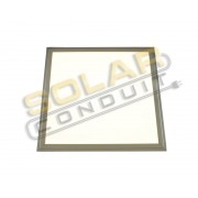LED THIN PANEL LIGHT - 18 WATT, COOL WHITE, 12 INCH SQUARE, KSOL POWER