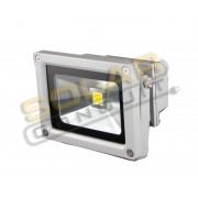 LED BRACKETED OUTDOOR FLOODLIGHT - 10 WATT, 12/24 VOLT DC, WARM WHITE (3000-4000K), KSOL POWER