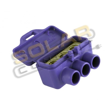 Connector Block 3 Port Splice 18 10 Pv Rated