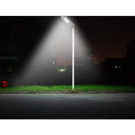 Solar Led Outdoor Street Area Light 1000 Lumen Pole
