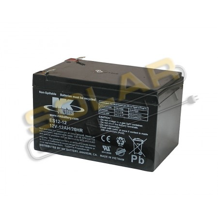 mk battery es12 12 small sealed agm battery 12 volt dc 12 amphour 12 volt dc small sealed. Black Bedroom Furniture Sets. Home Design Ideas