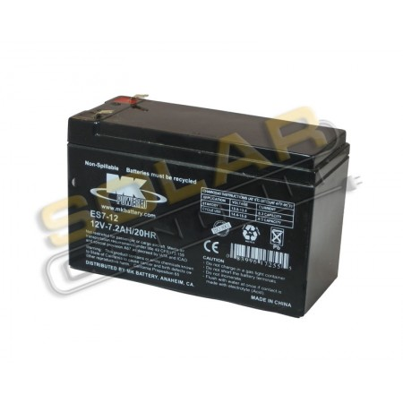mk battery es7 12 small sealed agm battery 12 volt dc 7 2 amphour small sealed batteries. Black Bedroom Furniture Sets. Home Design Ideas