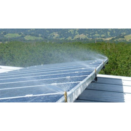 Heliotex Automatic Solar Panel Cleaning System For 50