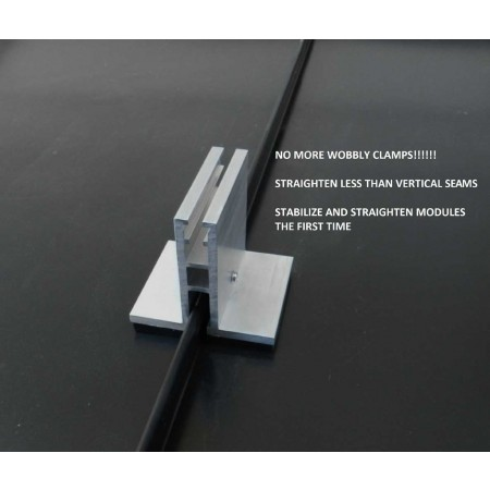 Sol Attach Pv Module Mount For Standing Seam Metal Roofs