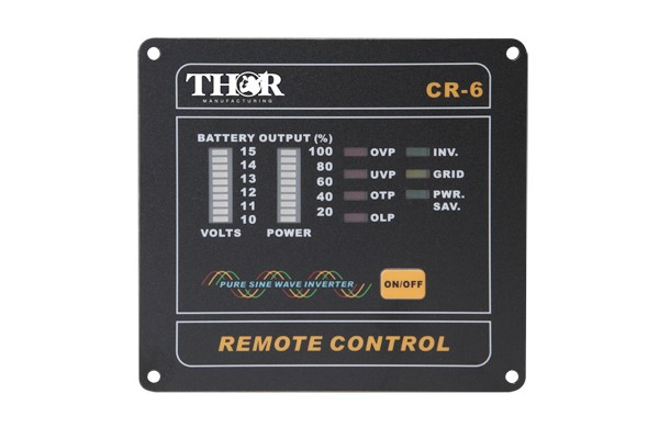 THOR FULL FUNCTION ON/OFF REMOTE - P/N TH-R6