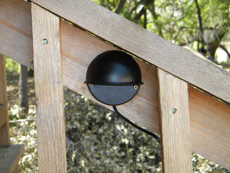 Solar led porch deck light kit 2 led deck lights mozeypictures Gallery