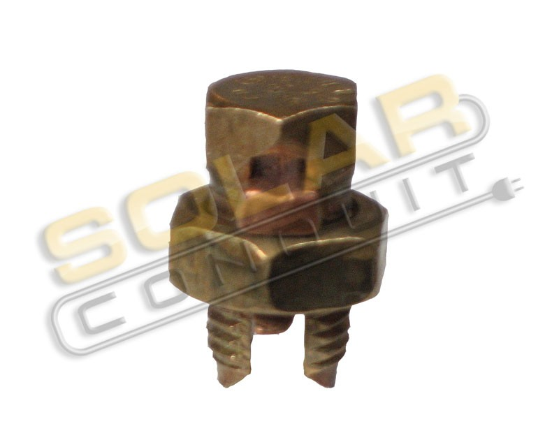 Copper Electrical Components : Split bolt connector copper for stranded wire