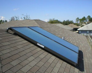 EAGLESUN AE-SERIES SOLAR COLLECTOR - 3 FEET X 7 FEET, P/N AE-21