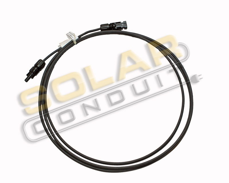 MC4 SOLARLINE 2 PV ARRAY OUTPUT 10AWG CABLE - MALE/FEMALE, 15 FEET, KSOL POWER