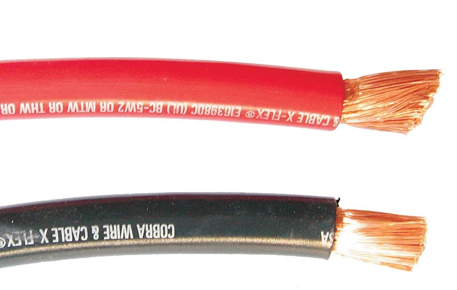 UL LISTED BATTERY CABLE - #2/0 AWG, RED, X-FLEX, PER FOOT, KSOL ...