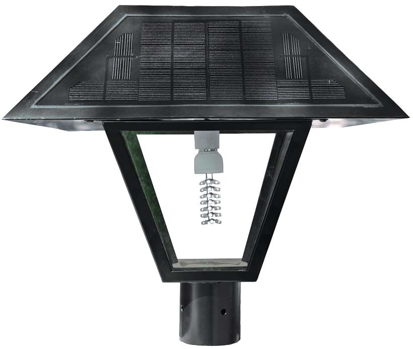 AMERICAN SOLAR ELECTRIC SOLAR COACH LIGHT - 42 LED, 12 VOLT DC, 12 AH BATTERY