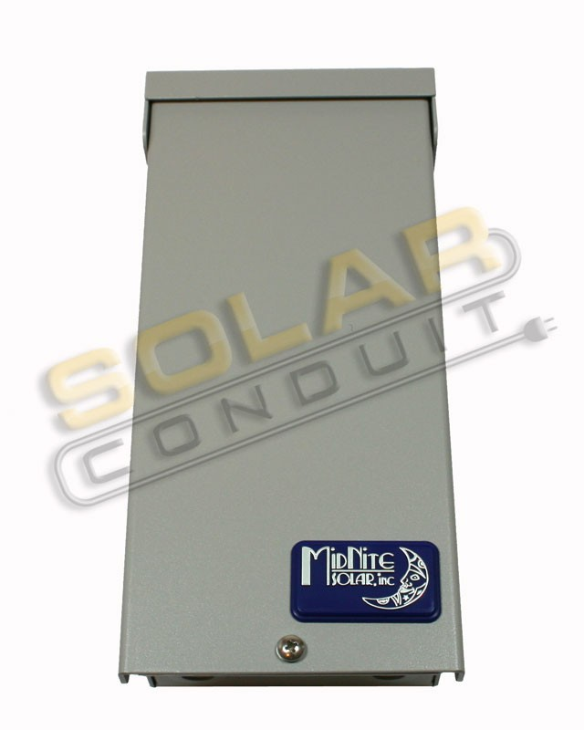 MIDNITE SOLAR  PV ARRAY COMBINER - 3 BREAKER SPACES, P/N MNPV3