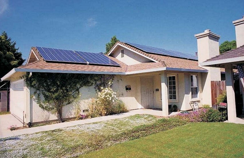 2.3 KW GRID-TIE SOLAR ELECTRIC SYSTEM - STRING INVERTER - INSTALLED IN TEXAS