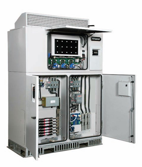 PV POWERED PVP100KW-208 GRID-TIE INVERTER DC/AC DISCONNECT - 100 KW, 208 VOLT AC