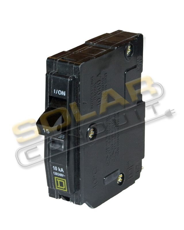 SQUARE D CIRCUIT BREAKER - QO110, 10 AMP, 1-POLE - Breakers & Fuses ...