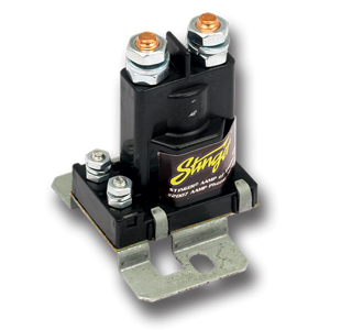 CURRENT RELAY DUAL BATTERY ISOLATOR - 80 AMP, STINGER, P/N