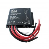 Solar Charge Controller - 10 Amp, 12/24 VDC, PWM, Light Control, Wire Leads, Outdoor (IP68), Pos. Ground, KSOL Power