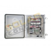 KSOL Power Solar Box 30AM - 30 Amp, 12/24 VDC Morningstar Solar Charge Controller Enclosure System, Outdoor Rated