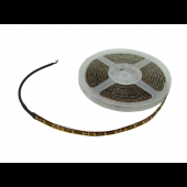 LED FLEXIBLE STRIP (TAPE) LIGHT - 16 FEET, WARM WHITE, 12 VDC / 120 VAC, KSOL POWER