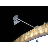Solar LED Outdoor Lighting System - (2) 1000 Lumen LED Floodlights, (2) 85 Watt PV Modules, (2) 97 AH Batteries, 15 Amp Controller, KSOL Power