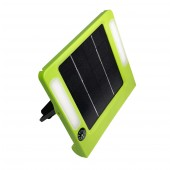 Portable Solar Light Plate - 5 Watt (330 Lumens), Green, KSOL Power