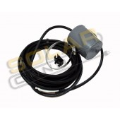 FLOAT SWITCH - 13 AMP, OFF WHEN FULL, P/N 1002737