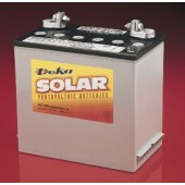 MK BATTERY SEALED AGM DEEP-CYCLE SOLAR BATTERY - 12 VOLT DC, 55 AMP HOUR, T881 POST, 8A22NF-DEKA