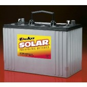MK BATTERY SEALED AGM DEEP-CYCLE SOLAR BATTERY - 12 VOLT DC, 105 AMP HOUR, DUAL TERMINAL POST (SAE & METRIC), 8A31DT-DEKA