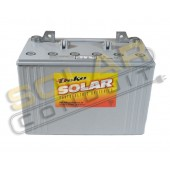 MK BATTERY SEALED GEL DEEP-CYCLE SOLAR BATTERY, 12 VOLT DC, 97 AMP HOUR, FLAG POST (T876), 8G30H-DEKA