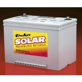 "MK BATTERY SEALED GEL DEEP-CYCLE SOLAR BATTERY - 73 AMP HOUR, 12 VOLT DC, 1/4"" INSERT, 8G24C-DEKA"