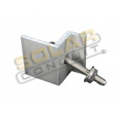 "END CLAMP - FOR MODULES 41 – 43 MM THICK (1.61"" - 1.69""), 1 EACH, KSOL POWER"