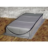"ATTIC INSULATION TENT - 22"" X 54"" X 7"", P/N AT-1"