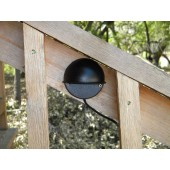 Solar LED Outdoor Porch/Deck Light System - 2 Lights, Detached Solar Panel & Battery Box, KSOL Power