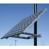 """DIRECT POWER & WATER POWER-FAB SIDE OF POLE MOUNT FOR MODULES UP TO 45"""" WIDE, 2"""" TO 4.5"""" PIPE (2 MODULES), P/N DP-UNI-SP/02X"""