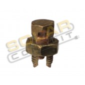 SPLIT BOLT CONNECTOR - COPPER, FOR #2/0 - #1 STRANDED WIRE