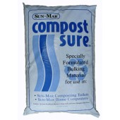 SUN-MAR COMPOST SURE BLUE FOR WATER-FLUSH COMPOSTING TOILETS, 30 LITRE BAG