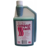 SUN-MAR COMPOST SWIFT FOR AUTOFLOW GARDEN COMPOSTER - 32 OZ. BOTTLE