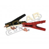 LARGE BATTERY CLAMPS - HEAVY DUTY, 400 AMP, 1 PAIR