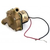Brushless Water Circulating Pump For Battery Power - 3.3 GPM, 12 Volt DC, Stainless Steel, P/N SID10B12SS