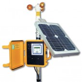 SOLAR POWERED WIND DATA LOGGER