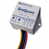 MORNINGSTAR SUNGUARD SG-4 CHARGE CONTROLLER - 4 AMP, 12 VOLT DC, OUTDOOR (IP65)