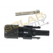 MC4 FEMALE PV CABLE CONNECTOR - 10 AWG, KSOL POWER