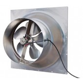 SOLAR GABLE FAN, 30 WATT ADJUSTABLE PV MODULE, 1550 CFM, NATURAL LIGHT