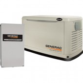 10 KW GENERAC GUARDIAN STANDBY GENERATOR - 200 AMP SVC RATED NEXUS SMART SWITCH, P/N 6051 - INSTALLED IN TEXAS