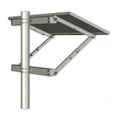 """Tamarack (previously Ironridge) Side of Pole Mount for Modules up to 30"""" Wide - P/N UNI-SP/01XX"""
