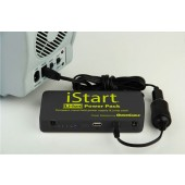 ISTART LI-ION PORTABLE POWER PACK BATTERY - 12000MAH, P/N  604039-001, QUICKCABLE