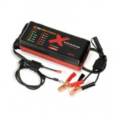 BATTERY CHARGER/ DESULFATOR - 12 VOLT DC, 2.5 AMP, 5 STAGE, REGULATED, PULSETECH, P/N XC100-P