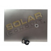 QUICK MOUNT PV - POOL PANEL MOUNT, COMPOSITION, ALUMINUM/STAINLESS, MILL FINISH